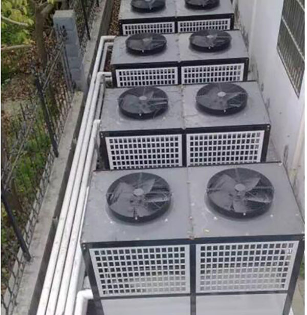安徽省皖北煤电集团有限责任公司含山恒泰非金属材料分公司50吨超低温空气源机组