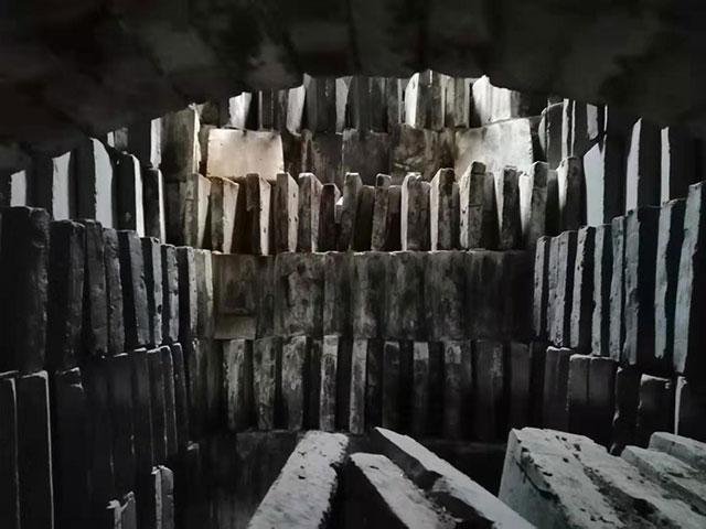 传统装窑展示