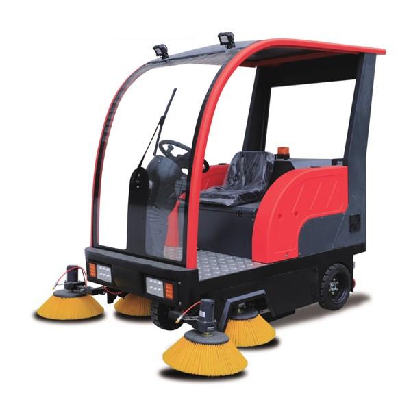 小型扫地车的工作原理及优点!