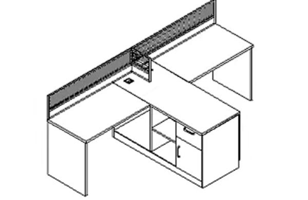 【办公家具】条桌