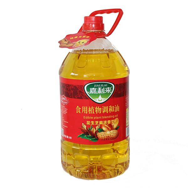 食用植物调和油 花生芝麻浓香型