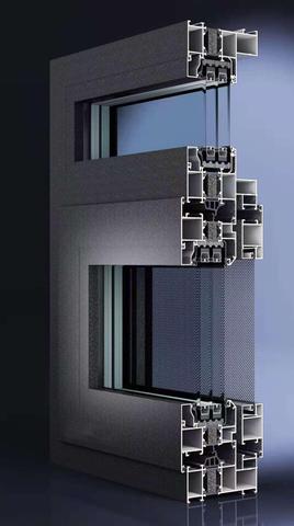 PC100(25.3条)隔热窗
