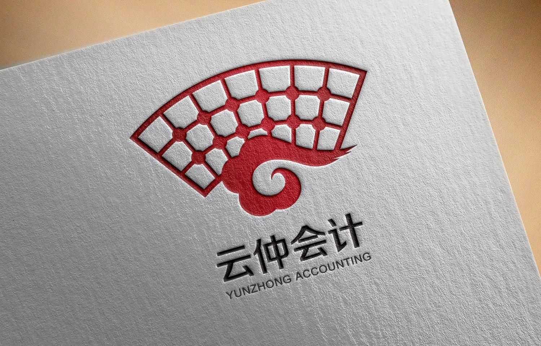 云仲会计logo设计