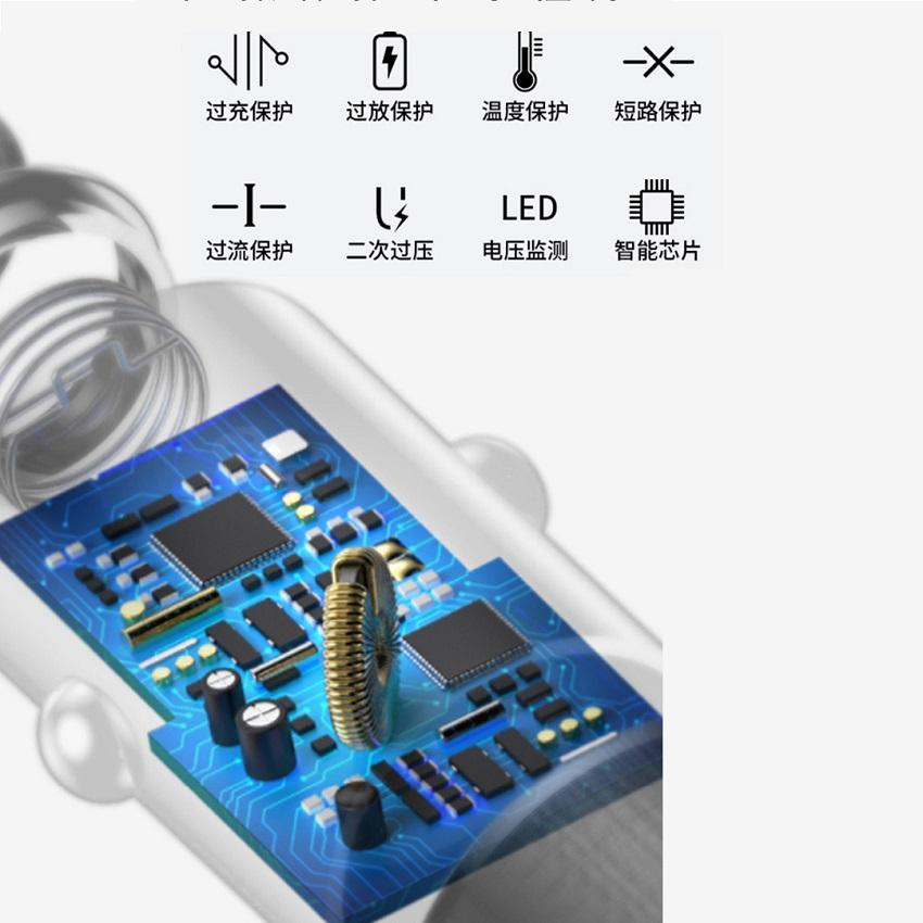 AD024酒瓶车充USB-C=双USB=单PD
