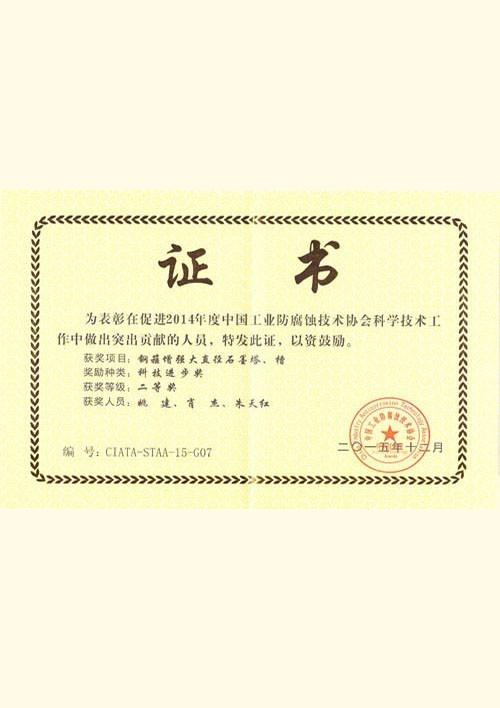 Science and Technology Progress Award (2014)