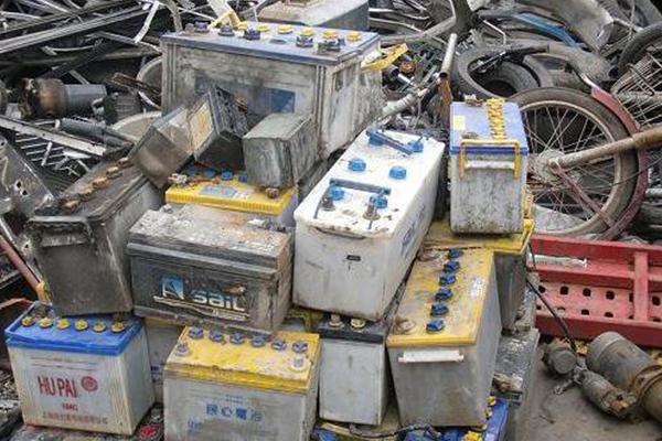 废电瓶回收