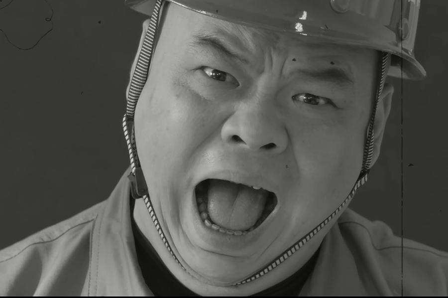 重庆市第六人民医院职业↓病防治公益广告 《错误的口罩》