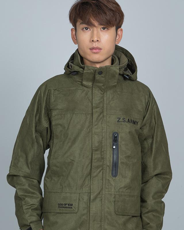 Jacket-013----军绿