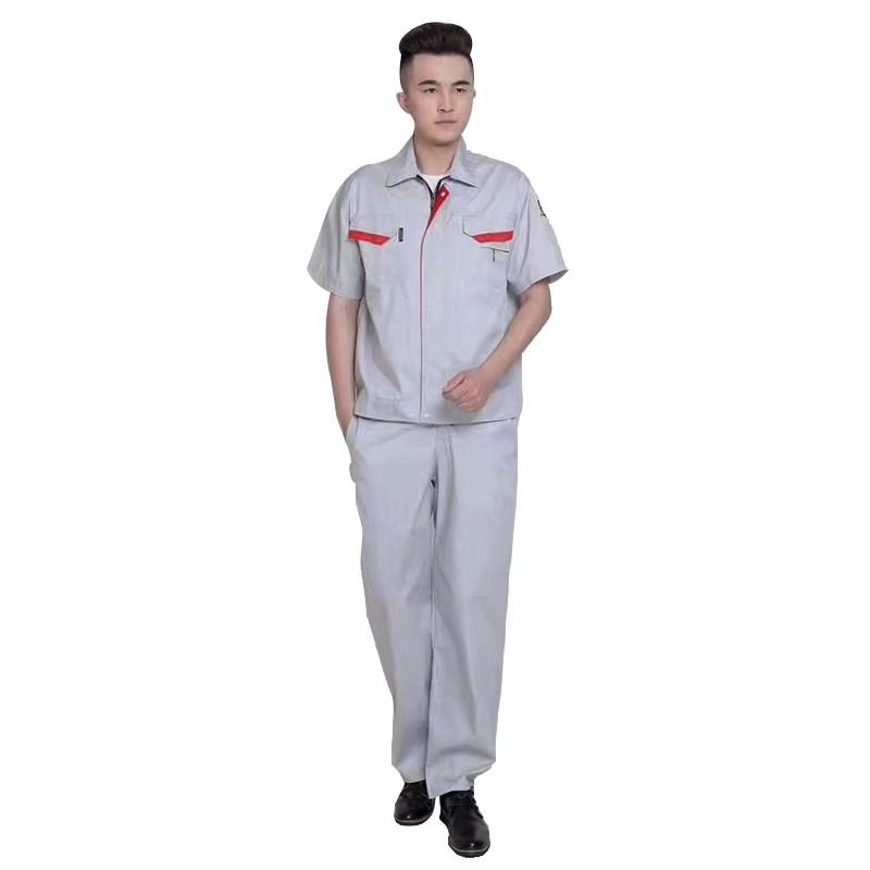夏装工作服