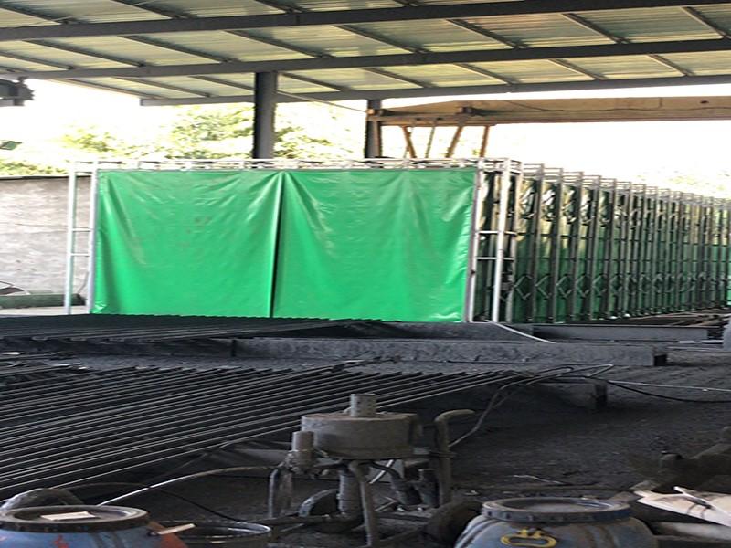 钢结构加工油漆房