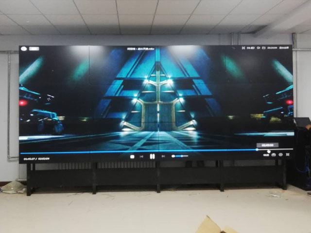 乌兰察布 华普科技 3X4拼接屏项目完美收官