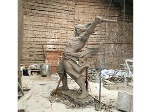 小结砂岩浮雕沾上污渍及风化层以后的修补方式