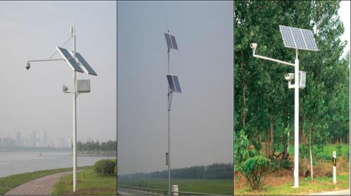 正定滹沱河太阳能监控杆