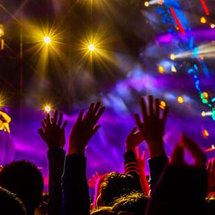 现场大型音乐会