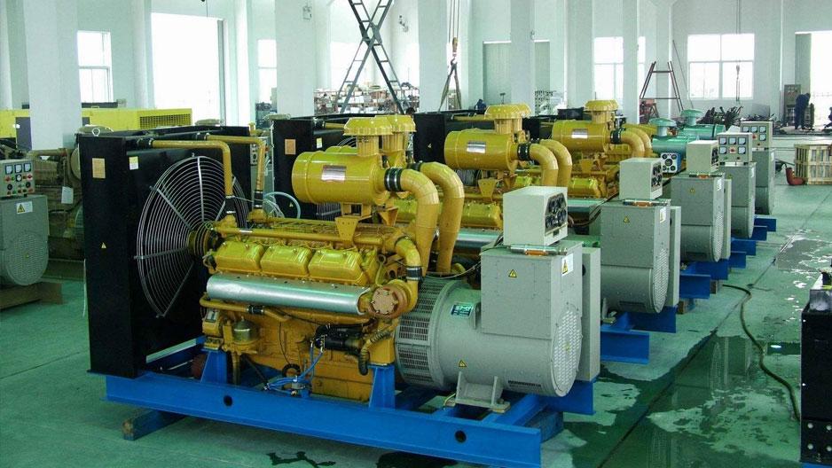 发电机组回收