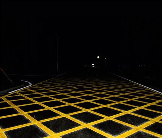 道路划线-交织区
