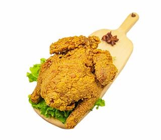 【小吃加盟新品】炸鸡
