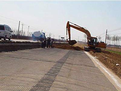 双向土工格栅路基加固项目