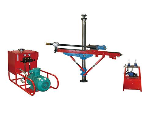 架柱式液压回转钻机运作调节实际的方式