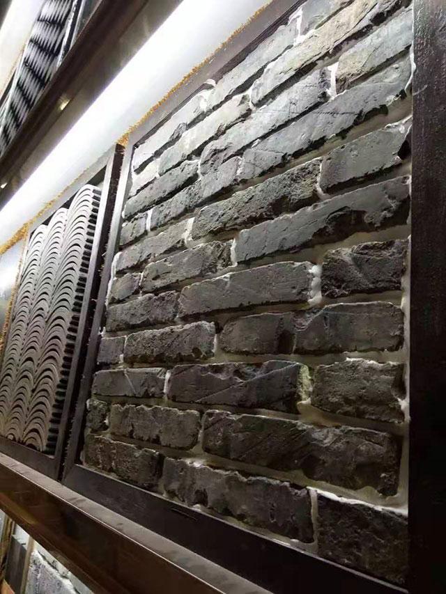 百年老青砖皮展示图