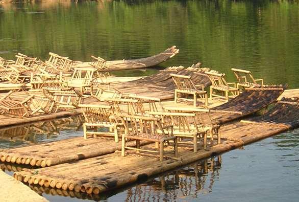 竹筏怎么制作 你知道吗