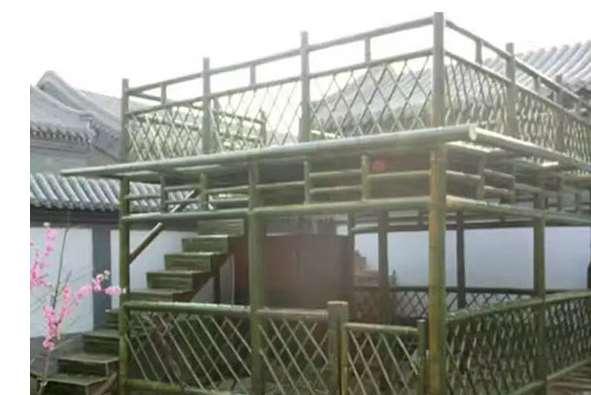 竹篱笆怎样防虫蛀