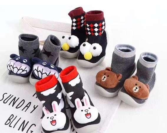 这么好看的儿童袜鞋 赶紧给宝宝买