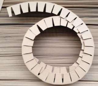 空心纸护角的关键结构叙述