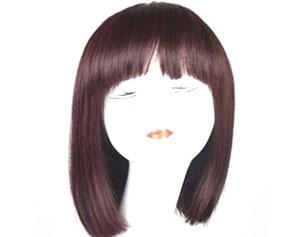 手织发假发
