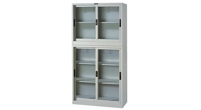 玻璃铁皮柜