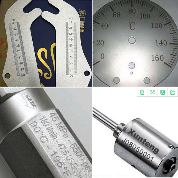 激光打标机在工业生产的应用