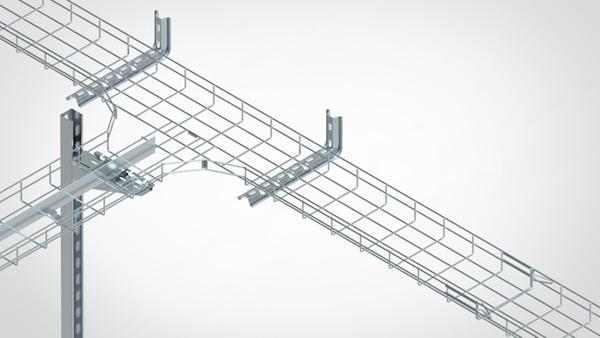 镀锌网格桥架供应