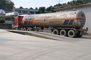 气体运输车
