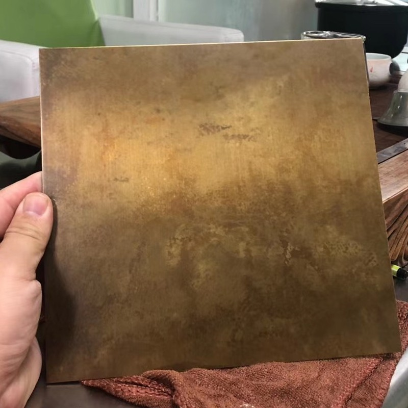 青褐铜彩色板