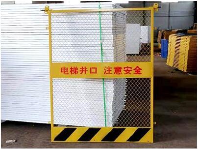 关于电梯防护门的结构介绍