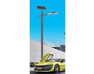 太阳能路灯杆订制表明