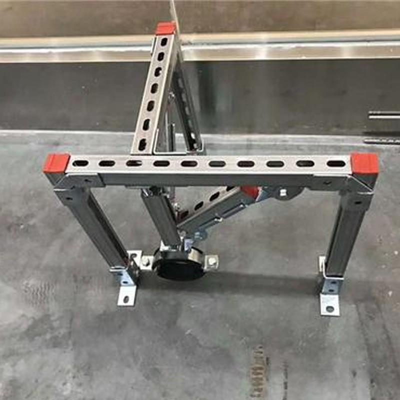 电气建设工程中使用抗震支架厂家产品安装中要注意哪些问题?