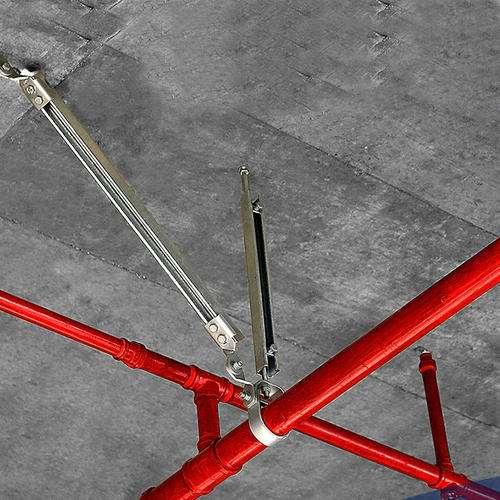 地铁装配式支架厂家告诉你成品支吊架的产品特点