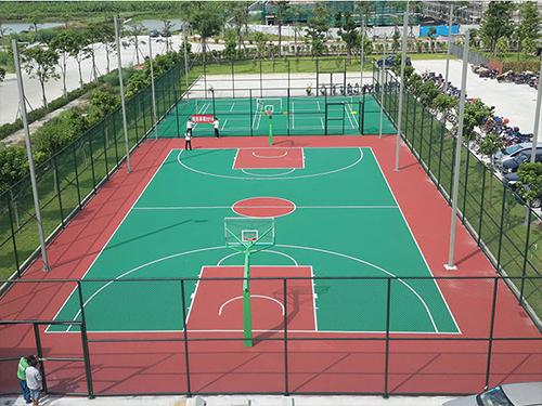 篮球馆地胶生产厂家