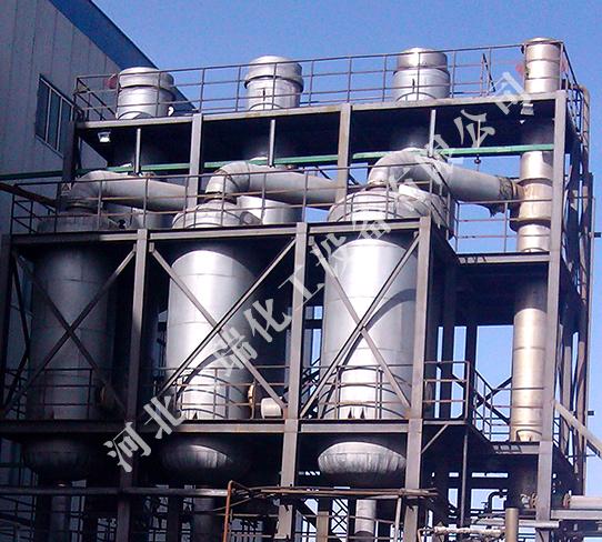 三效降膜蒸發器