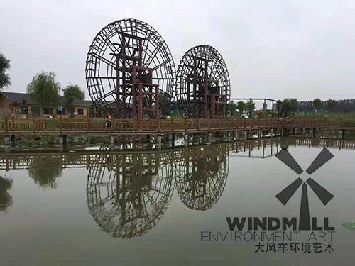 河北唐山农夫庄园水车