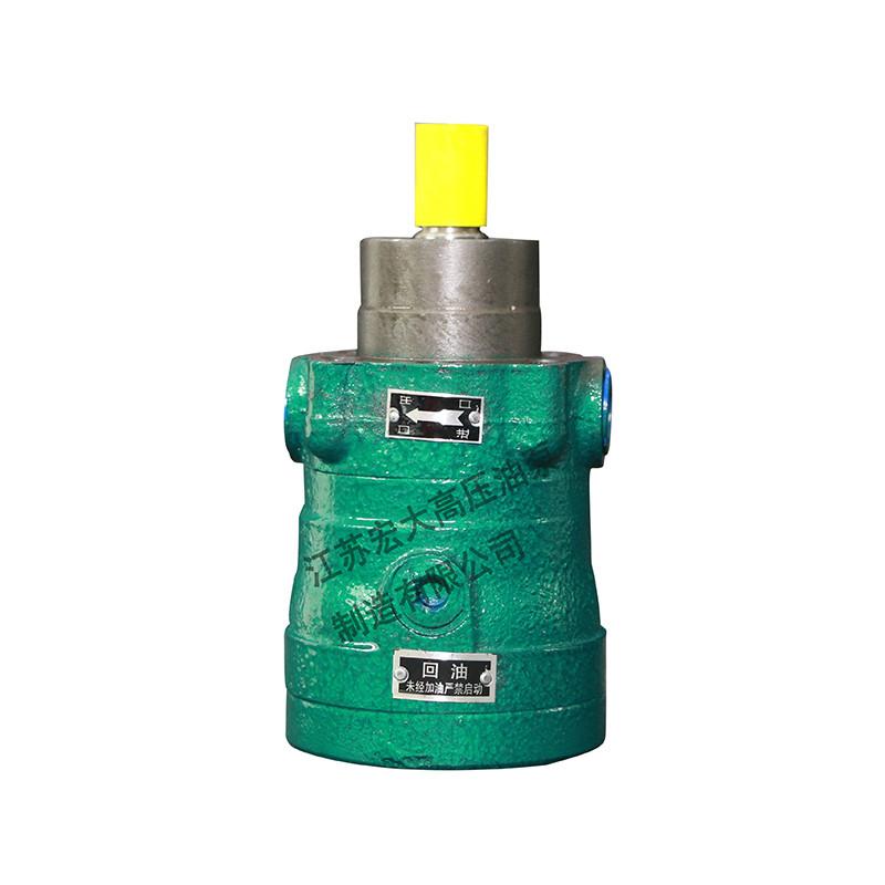柱塞泵选型之如何确定型号