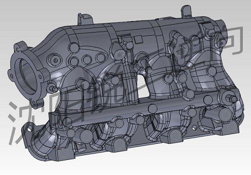 汽车发动机部件精密测绘