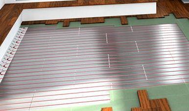 电热膜在地暖安装过程中的作用非常重要