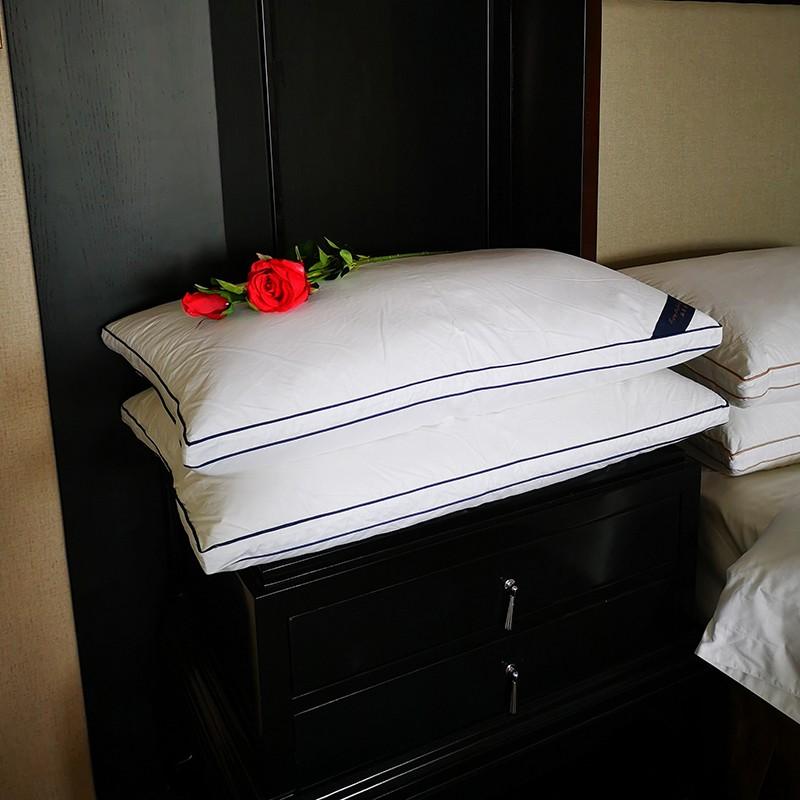 上海五星级酒店立体羽绒枕
