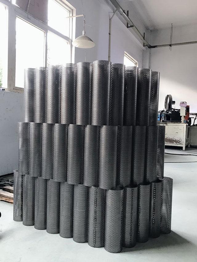 直缝冲孔焊管