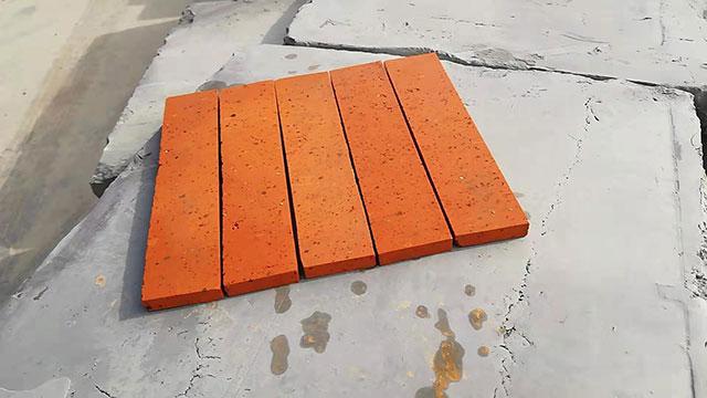 六面光红色砖片230-50-15