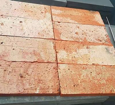 百年红色老砖皮