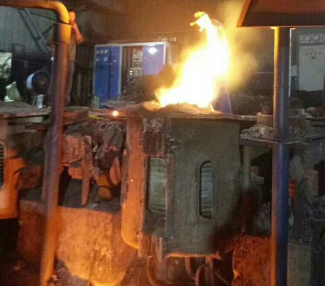 固定式熔铜炉