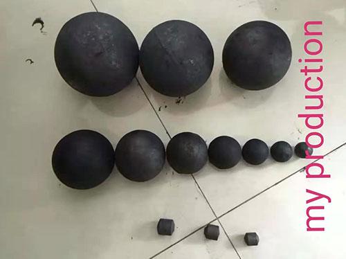 高铬钢球规格图片